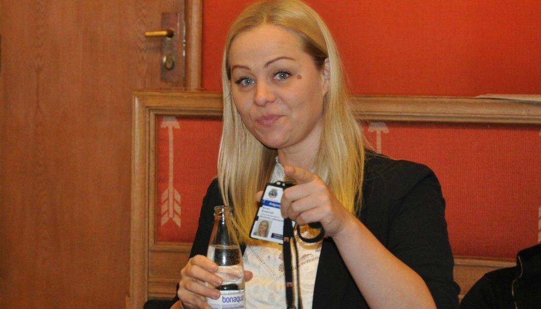 Eivor Evenrud og Rødt sitter trolig på vippen dersom de borgerlige partiene neste uke samler seg om Frps mistillitsforslag mot Lan Marie Berg.