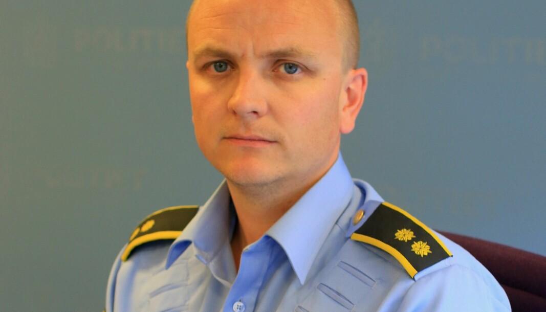 Pakkebudet er ikke fysisk, ifølge operasjonsleder Rune Hekkelstrand.