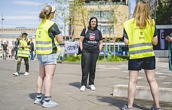 – Er dere klar over at bare i Oslo mangler vi over 1300 lærere?
