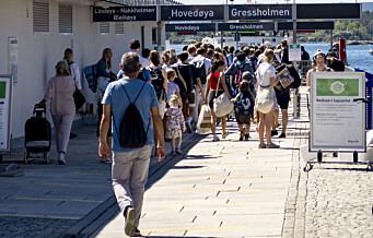 Folkehelseinstituttet ber Oslo om å bremse gjenåpningen