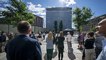 Nasjonal minnemarkering i Oslo spektrum for 22. juli-terroren. Kongen skal holde tale
