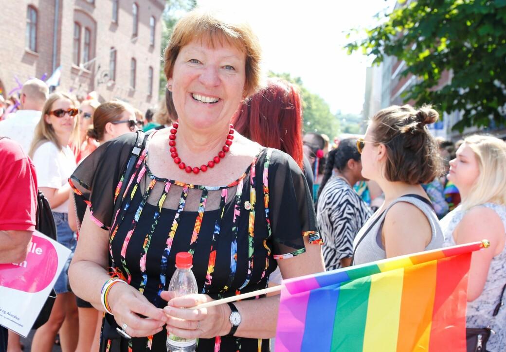 Hærverk og tyveri av Pride-flagg er uakseptabelt, mener ordfører Marianne Borgen (SV). Hun fikk med seg samtlige partier i bystyret på å utvide av flagging på Rådhuset.