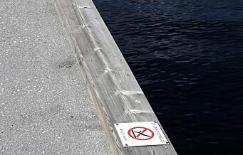 Skiltingen ved populære badeplasser i Bjørvika skal bli bedre etter alvorlig stupeulykke