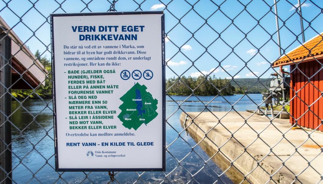 Oslo har ikke god nok vannforsyning. Nå sliter avløpsetaten også med det som trolig er en lekkasje i en av hovedvannledningene.