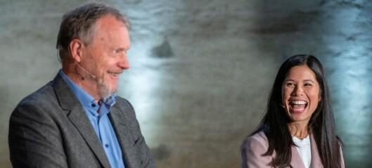 Unnvikende om kabinettspørsmål: - Jeg har full tillit til Lan Marie Berg, sier Raymond Johansen