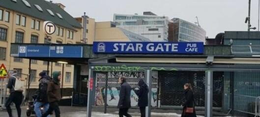 Politiet rykket ut til slagsmål ved pub på Grønland der flere personer var innblandet