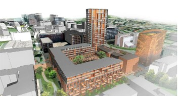 Planene om høyhus på Fyrstikktorget stoppes. — 24 etasjer blir for høyt, mener kommunen