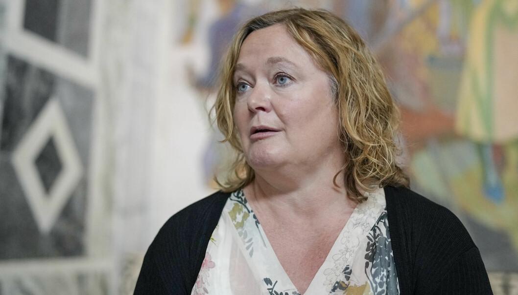 — Nei, jeg tror ikke det er grunnlag for å danne et borgerlig byråd, sier Høyres gruppeleder i bystyret, Anne Haabeth Rygg.