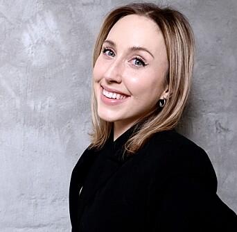 Markedssjef Aleksandra Dybdal-Holthe er begeistret for beliggenheten på Karl Johan.