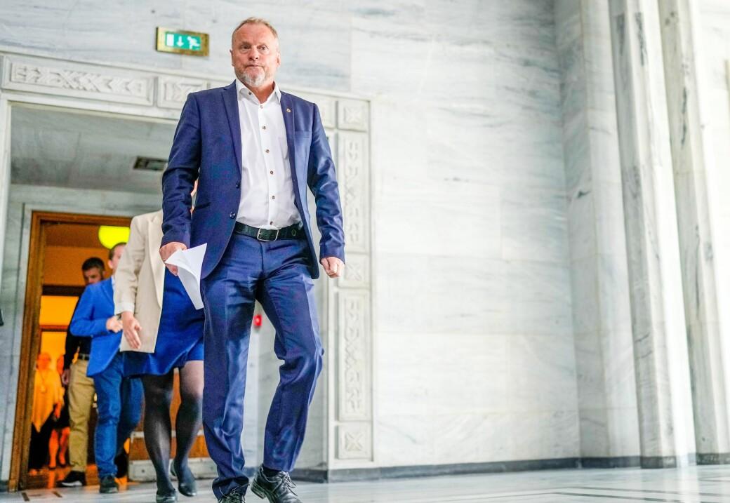 Raymond Johansen bekrefter uenighet med Rødt før mistillitsdramaet som endte med kabinettspørsmål og at hele Ap/SV/MDG-byrådet gikk av.