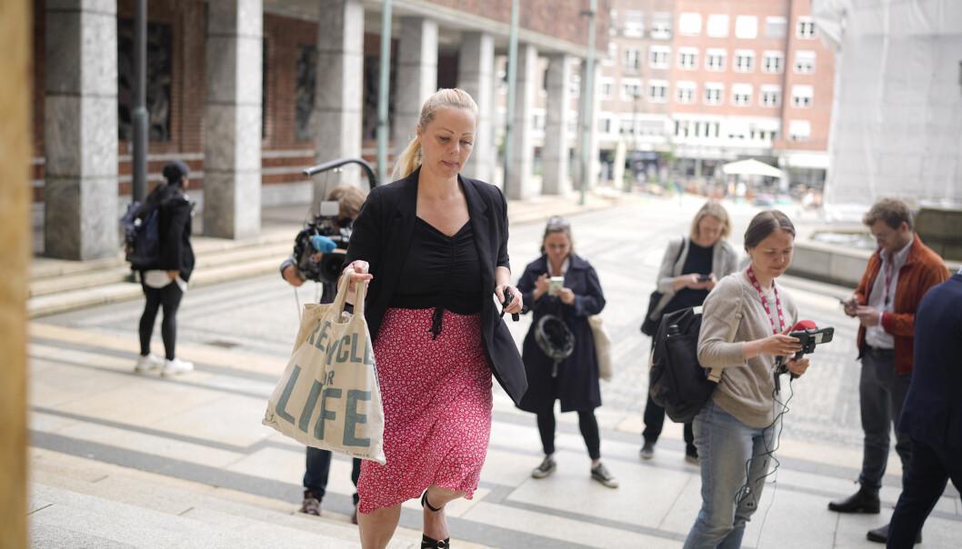 Gruppeleder i Rødt, Eivor Evenrud, tok en vanskelig beslutning om å felle Lan Marie Berg.