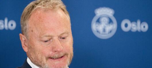 Raymond Johansen hardt ut mot MDGs ledelse