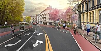 100 p-plasser fjernes etter vedtak om sykkelfelt i Ullevålsveien: - En highway for syklister, jubler Eivind Trædal (MDG)