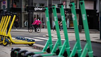 Elsparkesykkelskader i Oslo mer enn halvert med nye regler