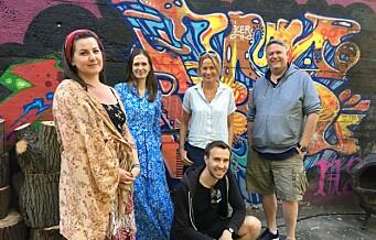 Snart får Grünerløkka masse ny fargesprakende graffiti og gatekunst på vegger og gavler