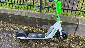 Elsparkesykkelfirmaet Lime måtte trekke opptil 1000 ulovlige elsparkesykler. De var for lange