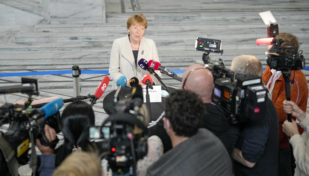 Ordfører i Oslo Marianne Borgen (SV) starter torsdag sonderinger med gruppelederne i bystyret om hvordan et nytt byråd skal se ut.