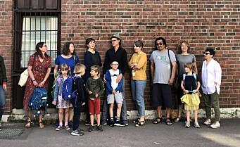 Mange av barna på Tøyen skole må nå flytte fra området. Studentsamskipnaden stykker opp studentblokk for familier. Vondt