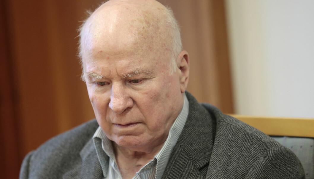 Ludvig Fredrik Fasting Torgersen under et rettsmøte i 2013. Torgersen døde i 2015.
