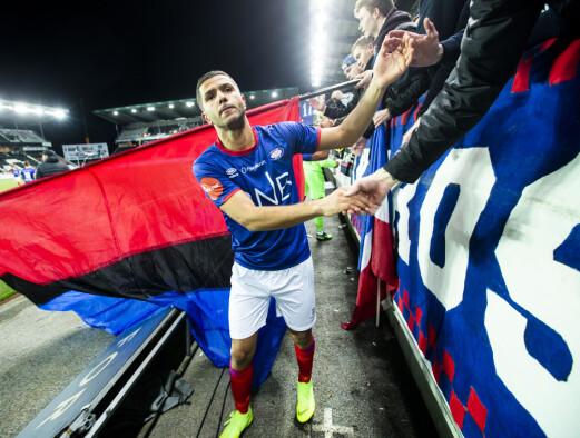 Amin Nouri ferdig i Vålerenga: - Klubben vil alltid bety mye for meg