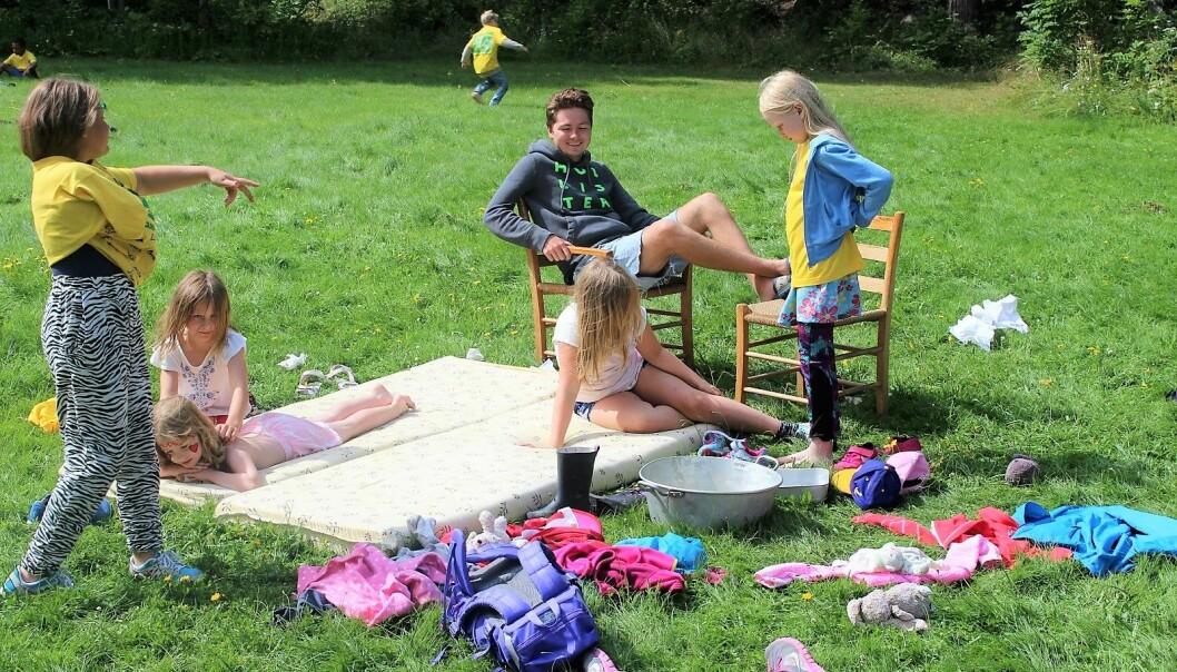 I år kan igjen barn og unge fra hovedstaden nyte sommer på Hudøy feriekoloni i Tønsbergfjorden.