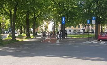 Gyldenløves gate-video skulle vise hvor få syklister som kom forbi. Viste 3,5 ganger så mange myke som harde trafikanter