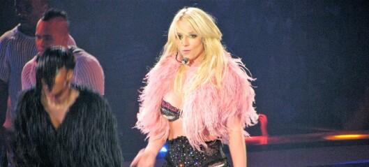 Varsler demonstrasjon til støtte for popdronningen Britney Spears på Hovseter i kveld