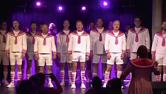 Fagottkoret vant Æresprisen under Oslo Pride og kvitterte med ubetalelig versjon av «Somewhere over the rainbow»