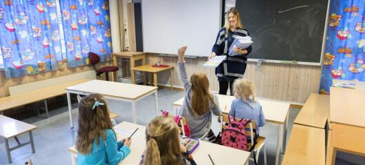 Regjeringen åpner for å prioritere vaksine til lærere, men Oslo prioriterer helsepersonell