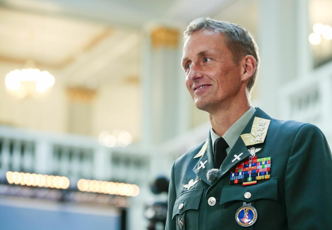 — I Forsvaret er alle ansatte like mye verdt uavhengig av bakgrunn, tro eller seksuell legning, sier Eirik Kristoffersen.