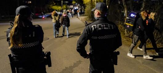 Politiet advarte om bøtelegging før festhelg. Ingen fikk bøter natt til lørdag