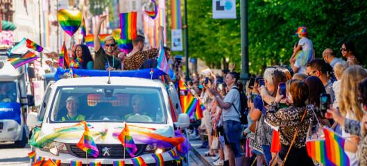 Det ble en tydelig og vellykka markering av Pride, både digitalt og fysisk. Se bildene