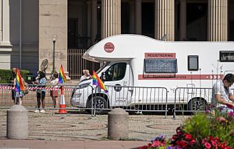 Under Oslo Pride og Bislett Games ble nesten 8.000 koronatestet. Ingen testet positivt