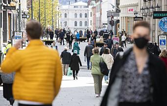 Lav smitte i Oslo. Flere nye registrerte smittede i Stavanger enn i hovedstaden