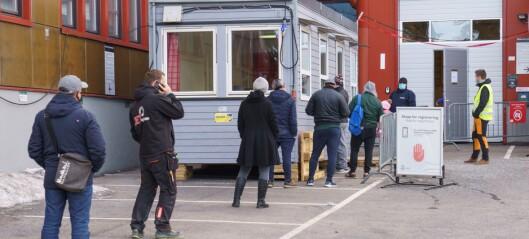 172 nye koronasmittede registrert i Oslo siste døgn