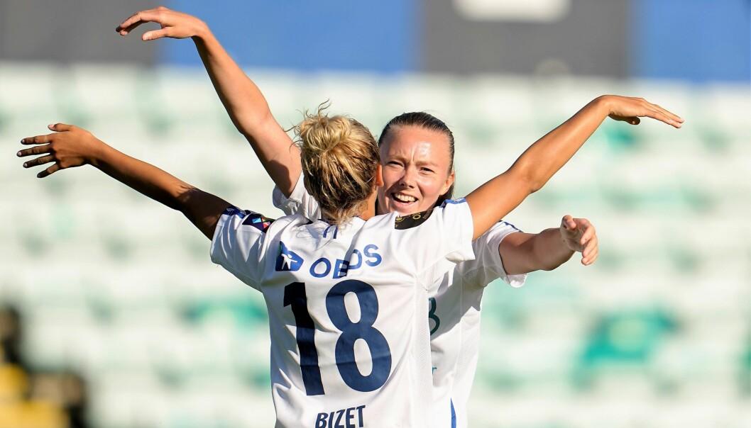 Det har vært mye å glede seg over for Synne Jensen så langt i sesongen. Med åtte scoringer er hun mestscorende i Toppserien.