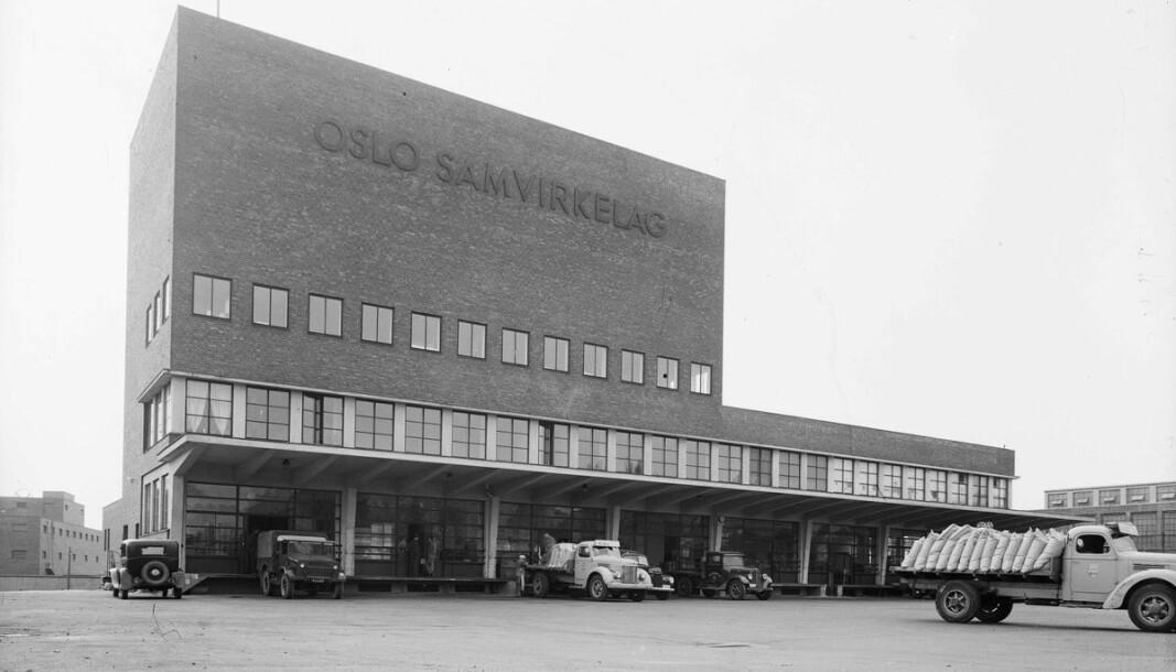 Oslo Samvirkelags bakeri i Lørenveien er gått tapt for historien.