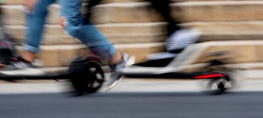 Elsparkesyklister skadd i ulykker på Stovner og i Uelands gate