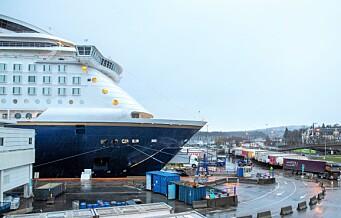 Ny rapport peker på Kongshavn som ny terminal for utenlandsfergene i Oslo