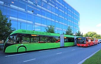 I det stille testet Ruter superbussen i Oslos gater: - Dette undergraver satsing på trikken, raser fagforening
