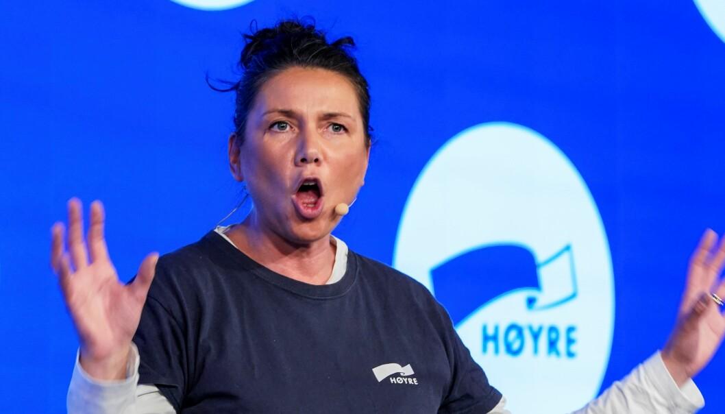 Oslo Høyre-leder og partiets 3. kandidat i hovedstaden ved stortingsvalget - Heidi Nordby Lunde - har motvind i en junimåling Sentio har gjort for Nettavisen.