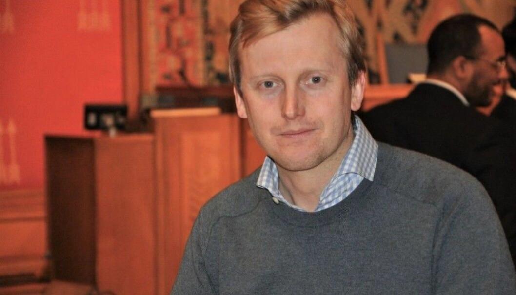 Øystein Sundelin trakk seg som gruppeleder for Høyre i januar i år. Nå er han Voi-ansatt og mener politikere ikke forstår hvordan teknologi skal redusere elsparkesykkel-ulykker.