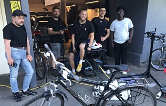 De fikser sykkelen din gratis, og bidrar til å styrke miljøet i Torshovdalen