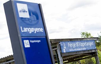 Politiet bortviser campingturister fra Langøyene lørdag kveld