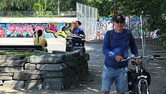 – Vedlikeholdet av Lilleborgbanen ved Torshovparken er under enhver kritikk. Det er trist, sier han som tegnet anlegget