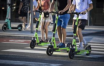 Oslo har Europa-rekord i elsparkesykler. Nå strammer Oslo kraftig inn på antallet