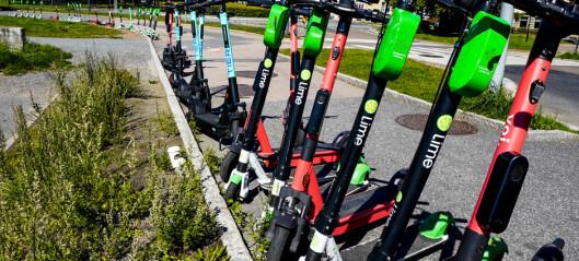 14 aktører vil drive utleie av elsparkesykler i Oslo