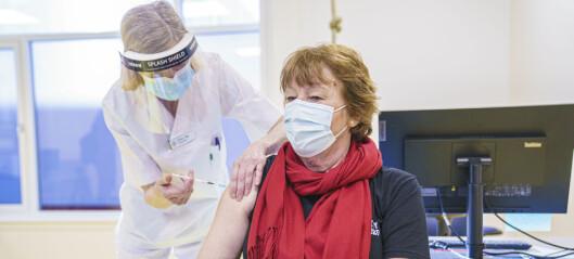 Oslo starter med drop-in-vaksinering