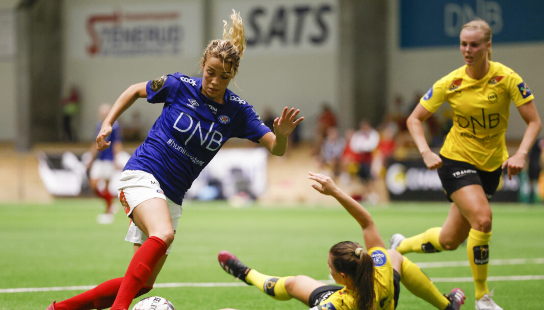 Den siste kampen før ferien borte mot Lillestrøm ble Celin Bizet Ildhusøys foreløpig siste kam som Vålerenga-spiller. Nå flytter hun til Paris og storklubben PSG.