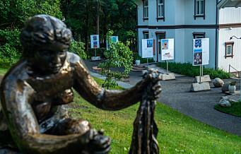 Kunst laget av flyktninger fra Moria møter norsk kunst på Ekeberg